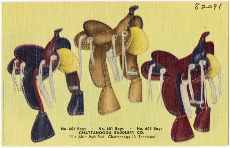 Chattanooga Saddlery Co., 3804 Alton Park Blv., Chattanooga 10, Tennessee