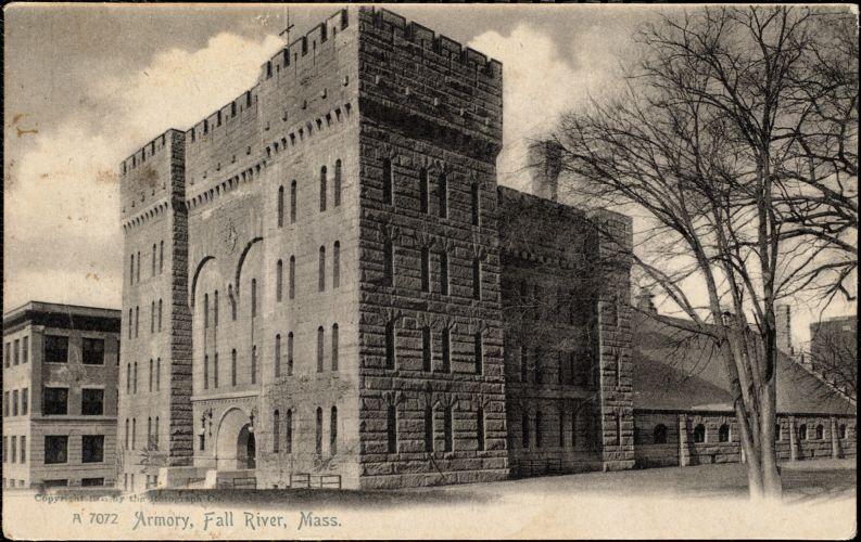 Armory, Fall River, Mass.