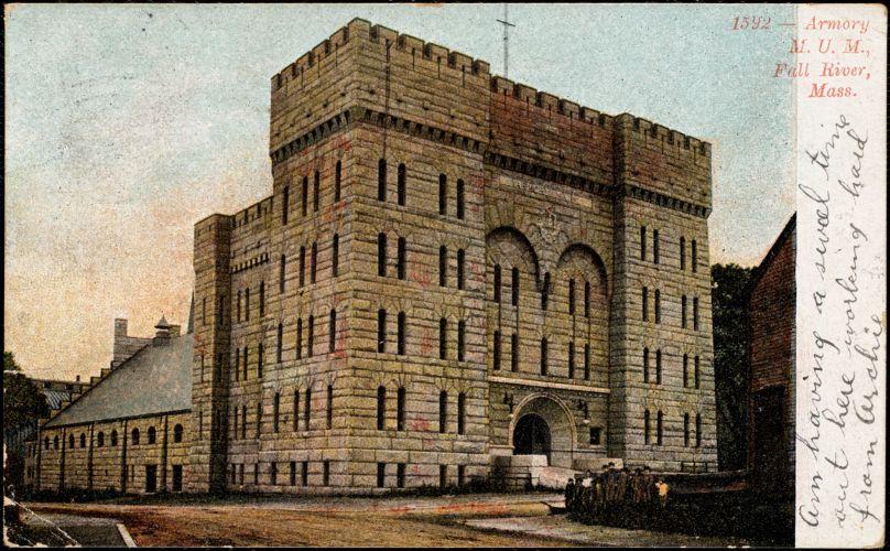 Armory, M.U.M., Fall River, Mass.