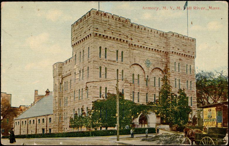 Armory M. V. M., Fall River, Mass.