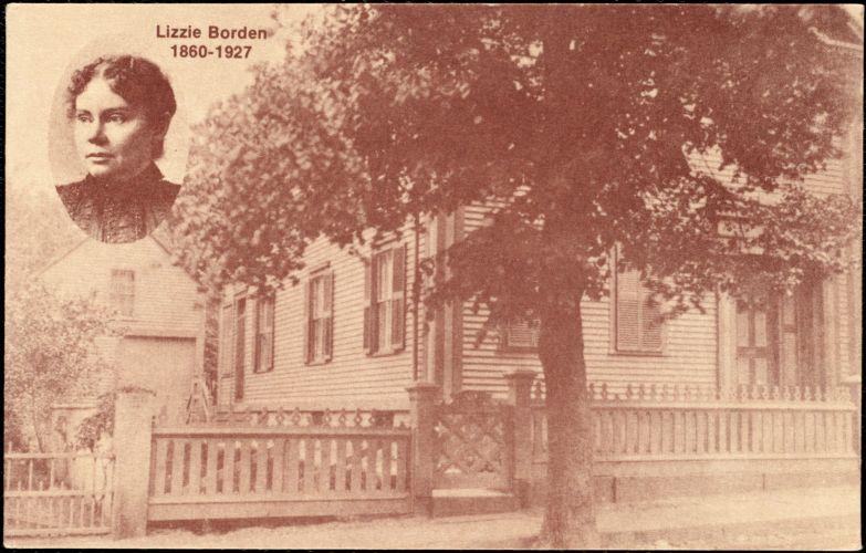 The Borden residence
