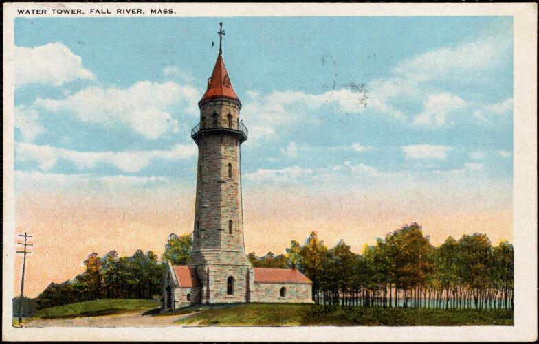 Water tower. Fall River, Mass.