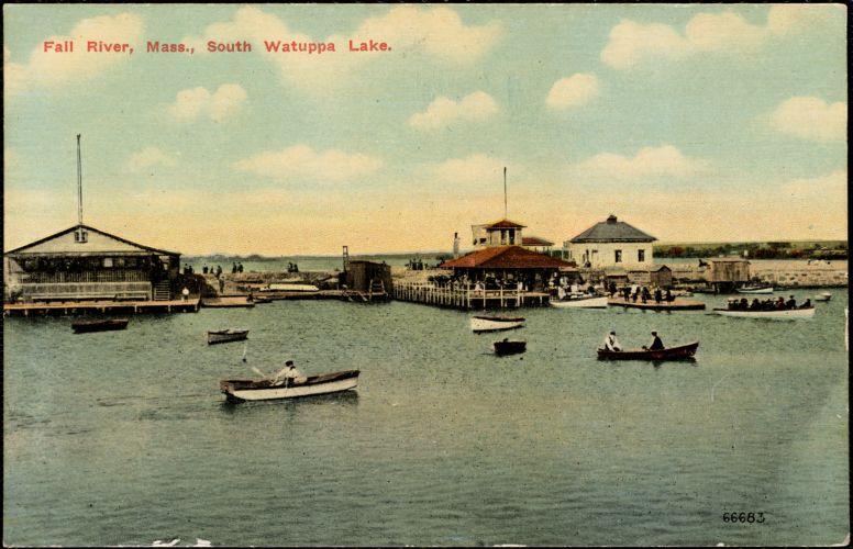 Fall River Mass. South Watuppa Lake.