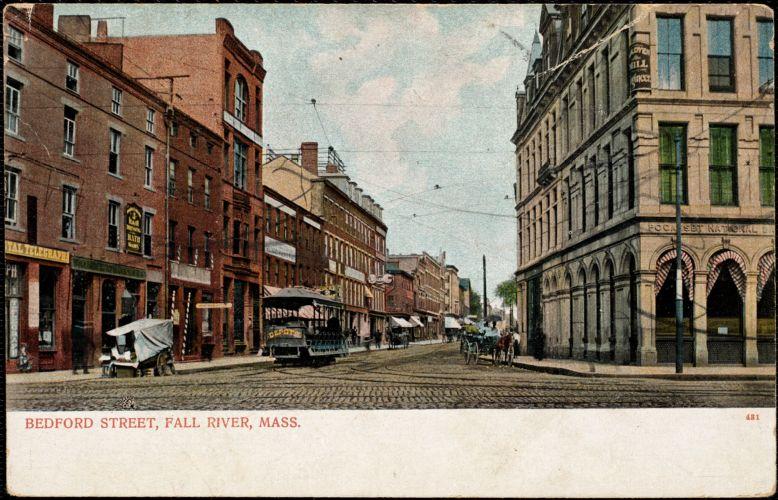 Bedford Street, Fall River, Mass.