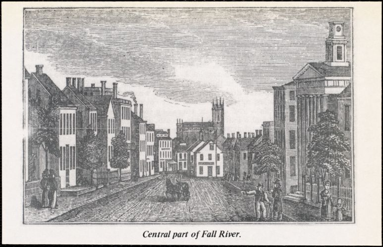 Central part of Fall River.