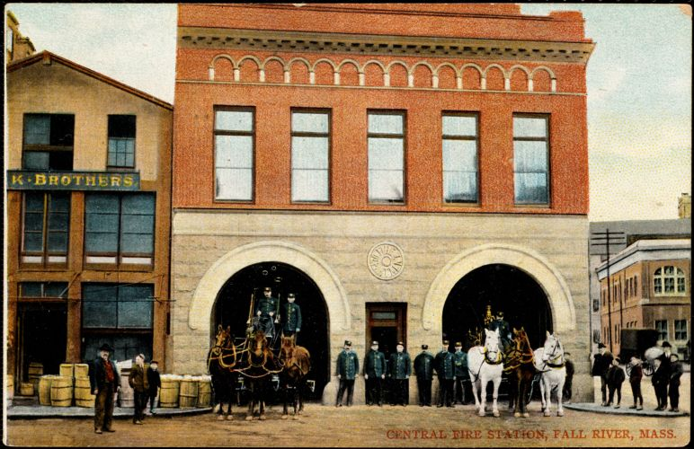Central Fire Station, Fall River, Mass.