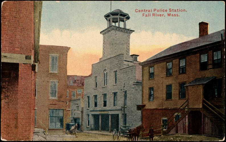 Central Police Station, Fall River, Mass.