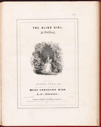 The blind girl. A ballad.