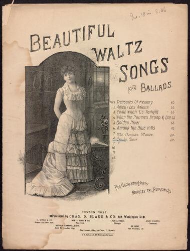 Beautiful waltz songs and ballads