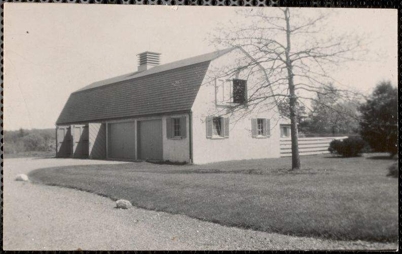 410 South St - Bam Rubel - demolished to house 1960