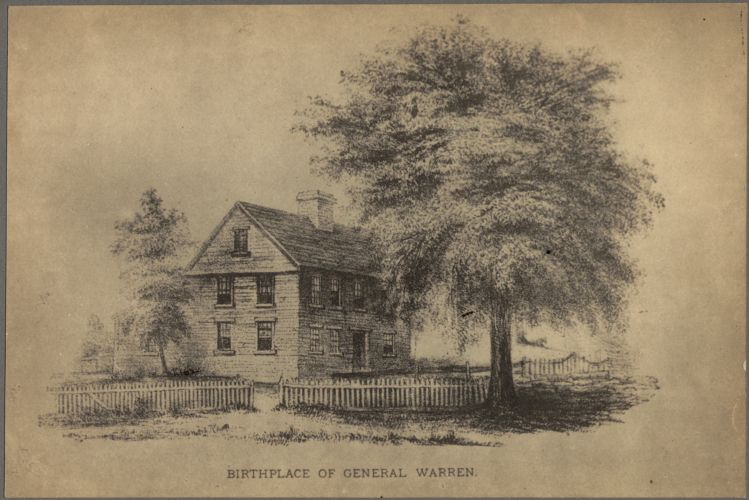 Birthplace of General Warren, Roxbury