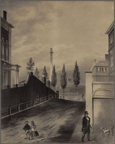 Beacon Hill from Mount Vernon Street