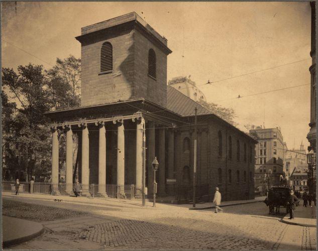 King's Chapel, Tremont Street