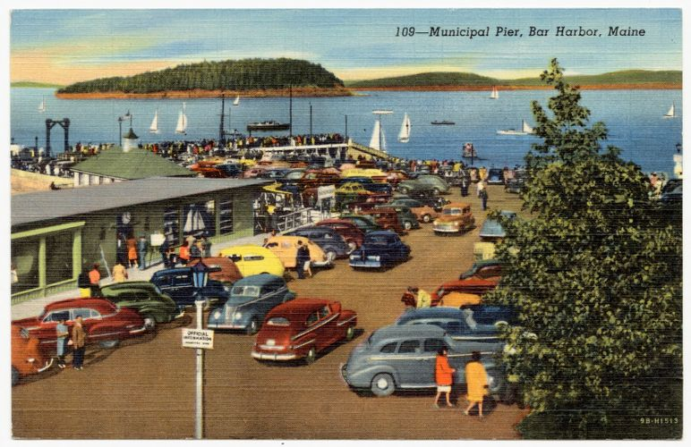 109 -- Municipal Pier, Bar Harbor, Maine