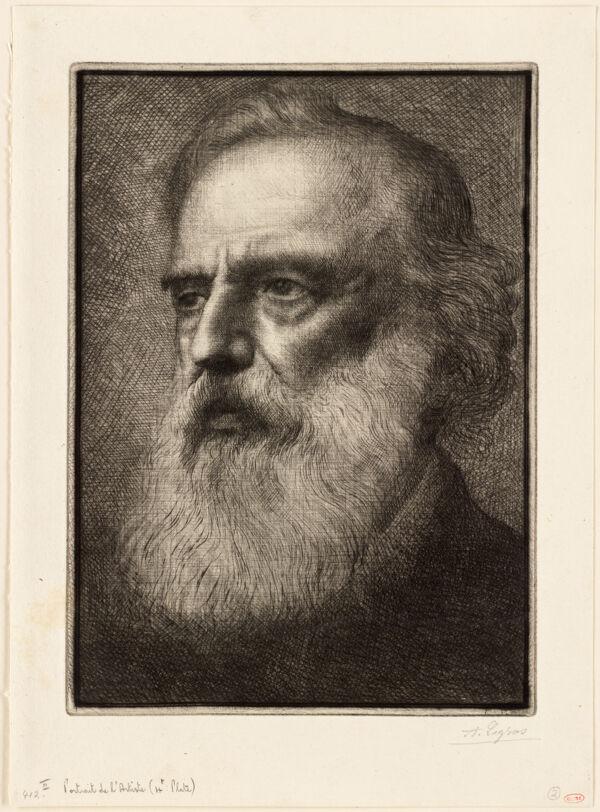 Portrait De L'Artiste (4th Plate)