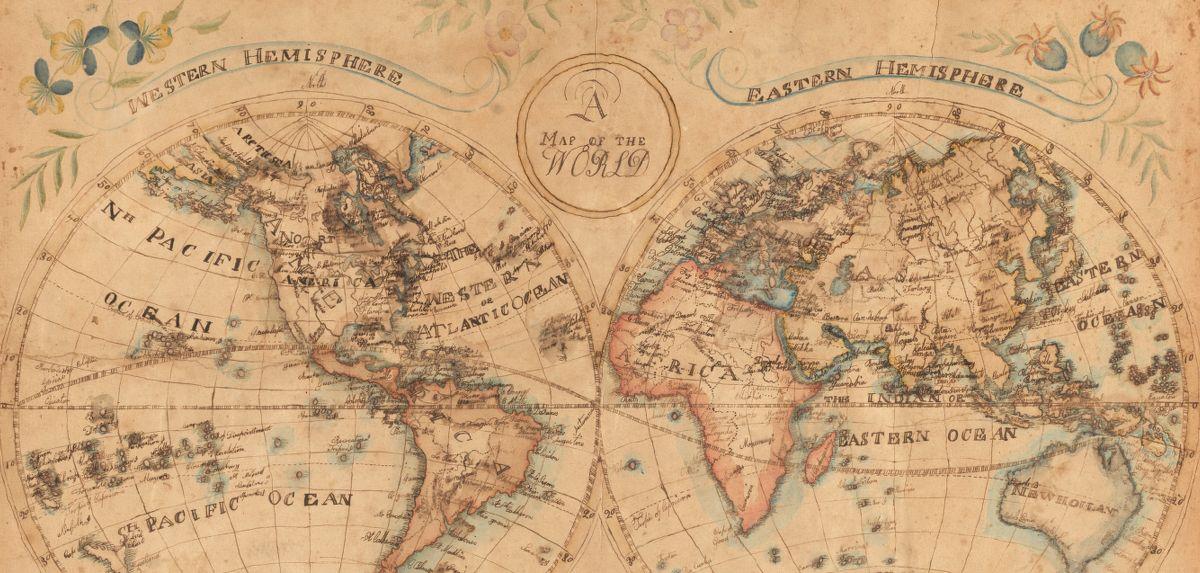 Vernacular map