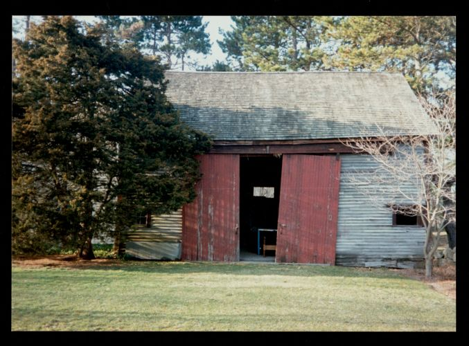 Barn at 175 Woodbury Street, taken 1990's