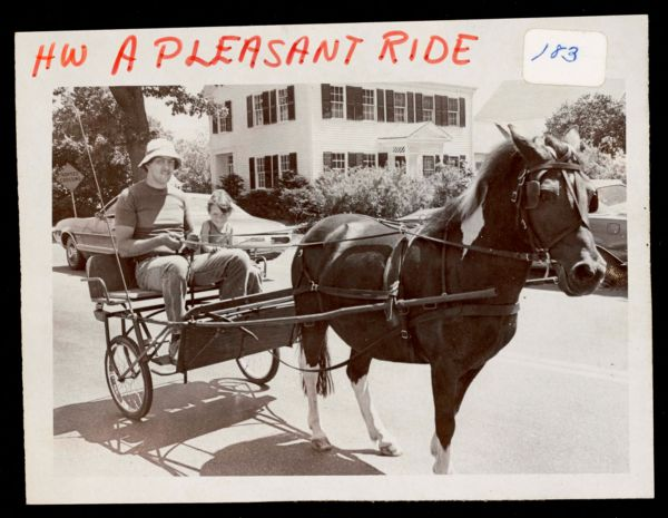 A pleasant ride, Bernice Andrews house