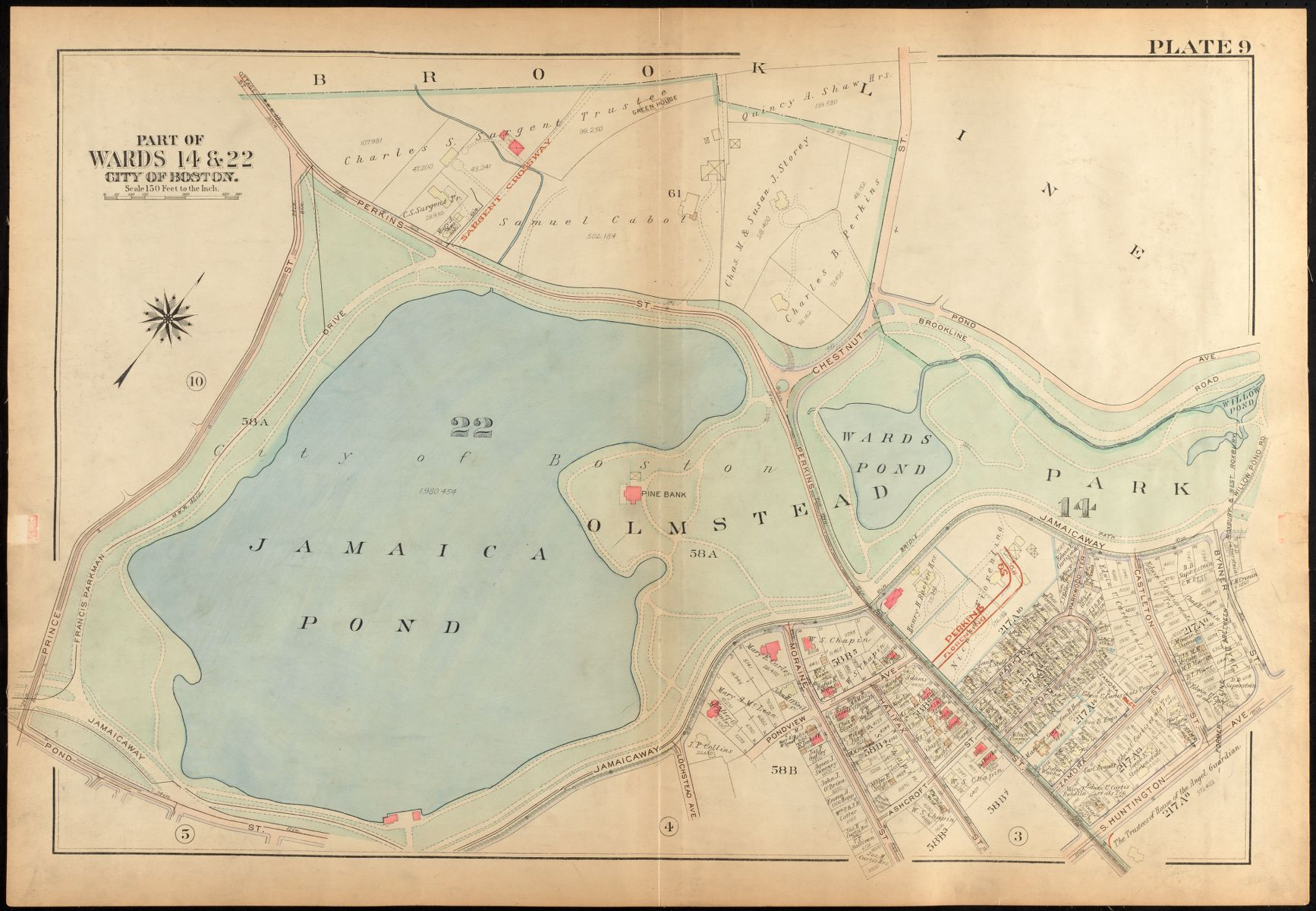 Highlights from Jamaica Plain By Map