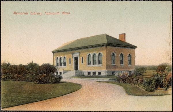 Memorial Library Falmouth Mass