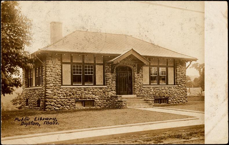 Public library, Dighton, Mass.