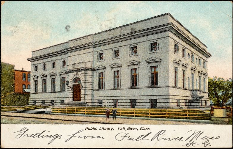 Public library. Fall River, Mass.