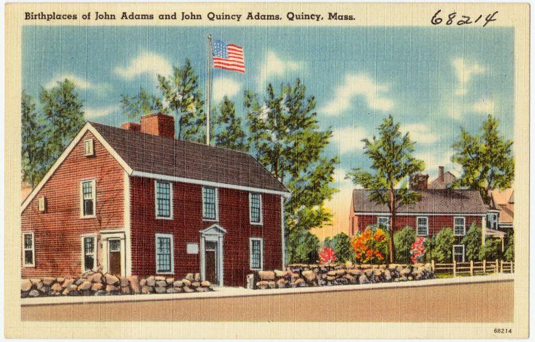 Birthplace of John Adams and John Quincy Adams, Quincy, Mass.