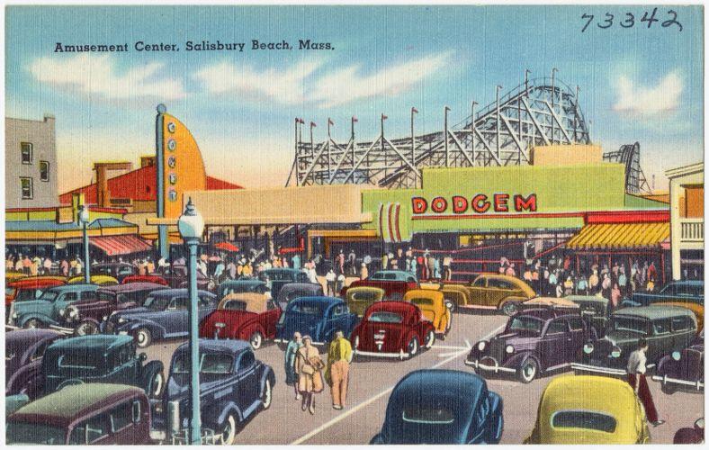Amusement Center, Salisbury Beach, Mass.