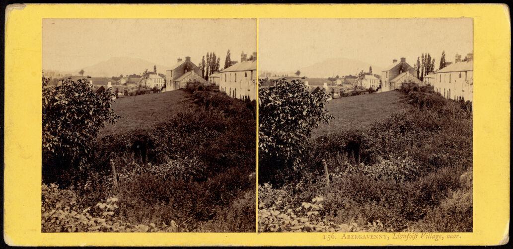 Abergavenny, Llanfoit Village, near.