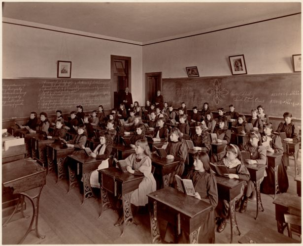 Gaston School, fourth class, [1st] division. South Boston