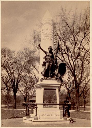 Crispus Attucks statue. Boston Common