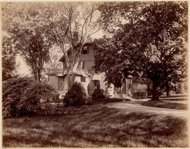 The Francis Parkman House, Jamaica Pond, 1894