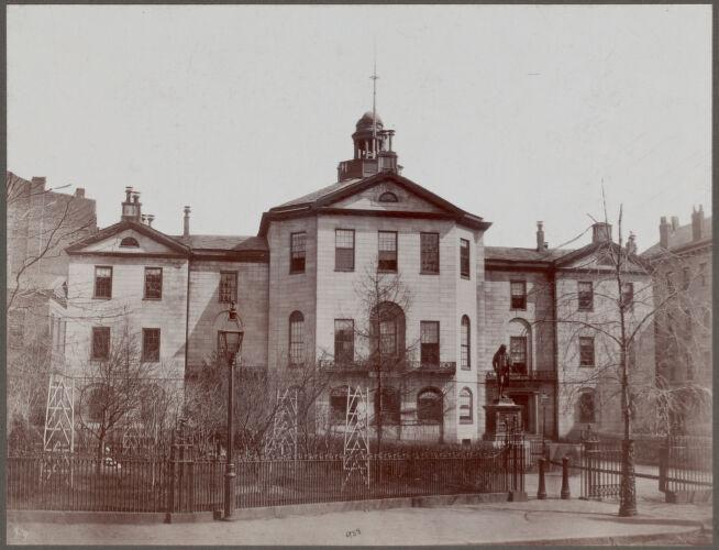 """Boston, Massachusetts. Old City Hall (""""Johnson Hall""""), School Street"""