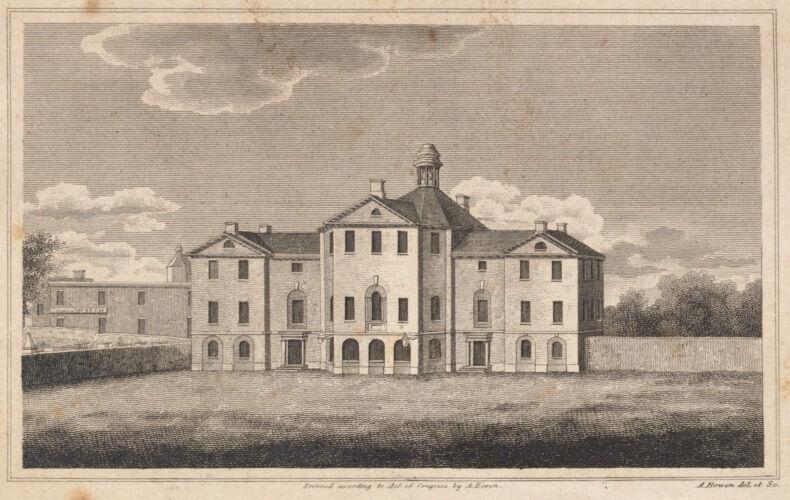 Johnson Hall, Court-Square