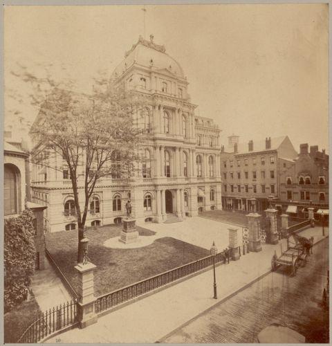 Boston, Massachusetts. City Hall