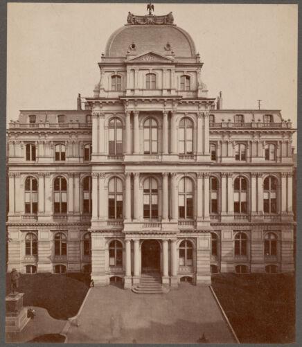 City Hall, School Street, 1865-
