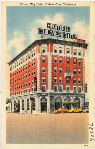 Culver City Hotel, Culver City, California