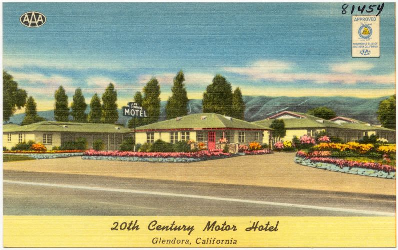 20th Century Motor Hotel, Glendora, California