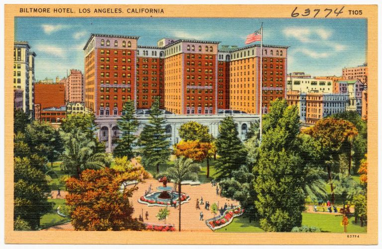 Biltmore Hotel, Los Angeles, California
