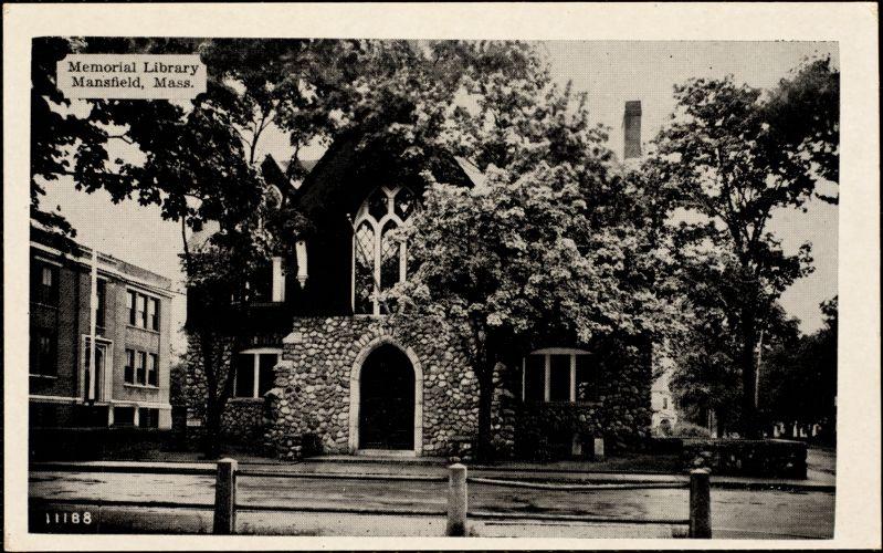 Memorial Library, Mansfield, Mass.
