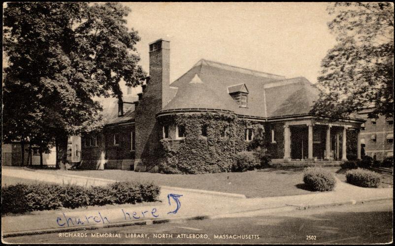 Richards Memorial Library, North Attleboro, Massachusetts