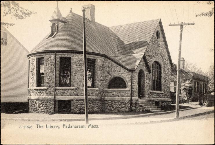 The library, Padanaram, Mass.