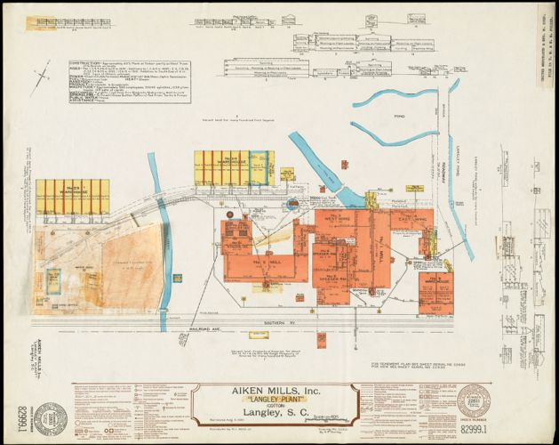 "Aiken Mills, Inc. ""Langley Plant"" (Cotton), Langley, S.C."