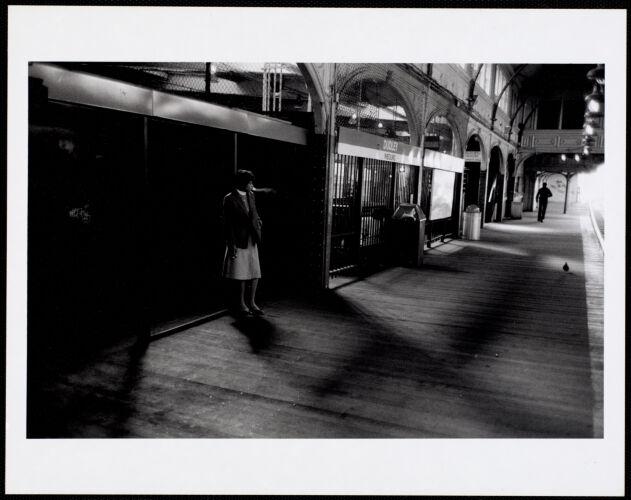 Inbound platform, Dudley Station