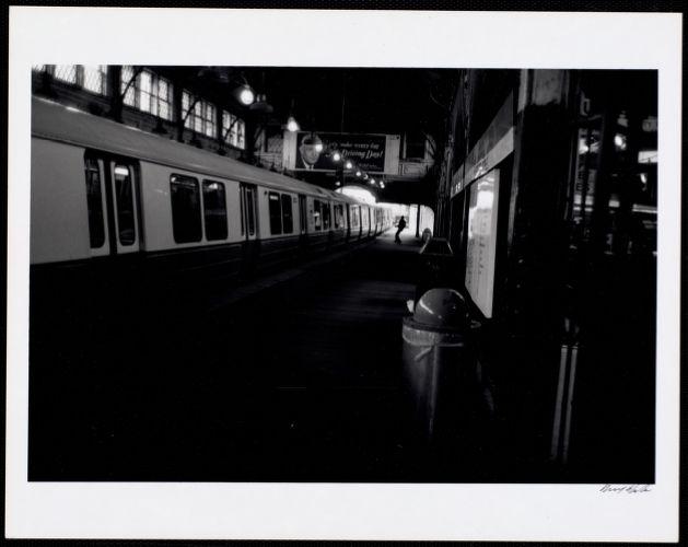 Dudley Station - inbound platform