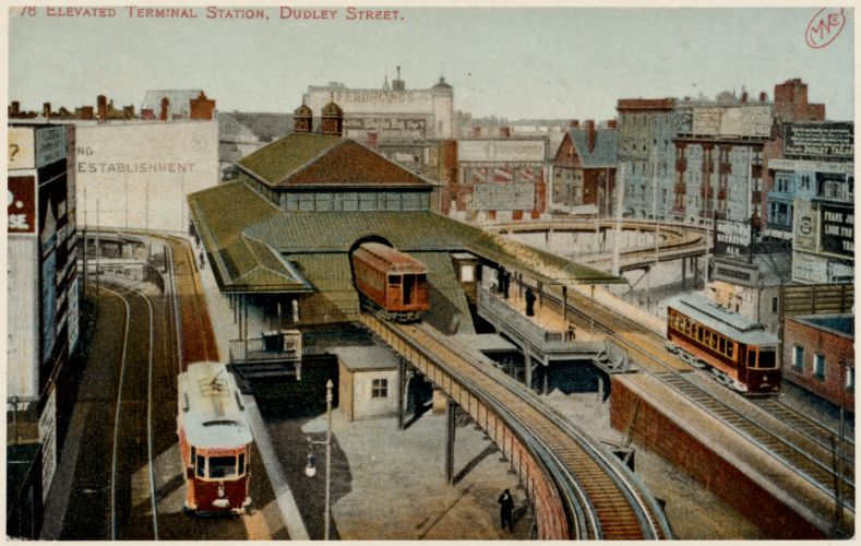 778 Elevated terminal station, Dudley Street