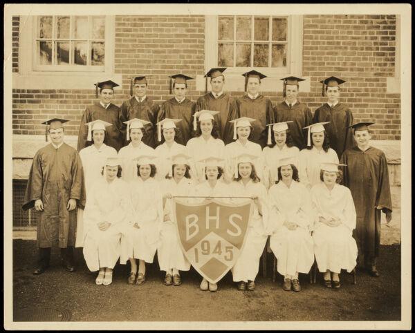 Barre High School 1945