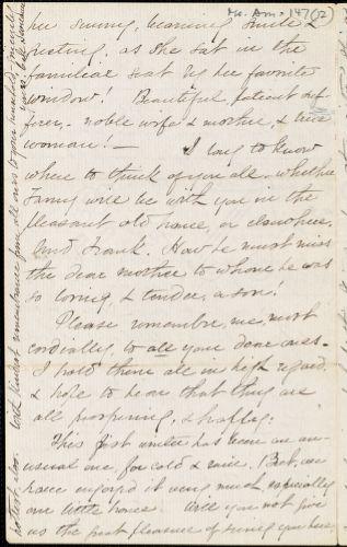 Letter from Caroline Maria Seymour, Los Angeles, [California], to William Lloyd Garrison, 1876 March 9