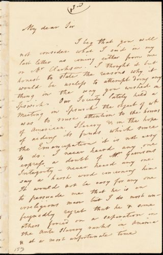 Letter from Catherine Clarkson to John Bishop Estlin, 1846 June 2