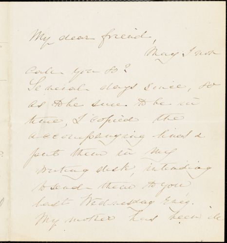 Letter from E.H. Whitwell to William Lloyd Garrison, 1877 Jan[uary] 28